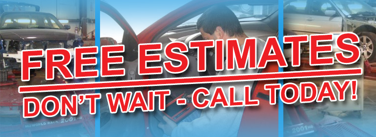 Advanced Auto Body provides FREE Estimates